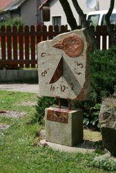 Sluneční hodiny pták